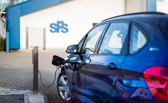 SFS rüstet auf E-Autos um. 2